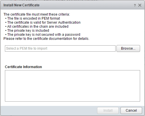 how to create a pem certificate
